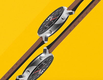 Commercial video advertising for Amazfit GTR smartwatch