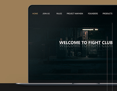 Fight Club User interface