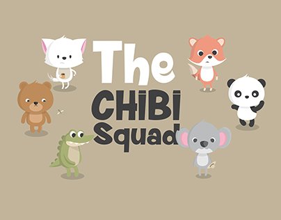 The Chibi Animal's Squad ( Character Design )