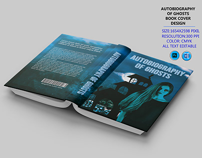 autobiography of ghosts book cover design