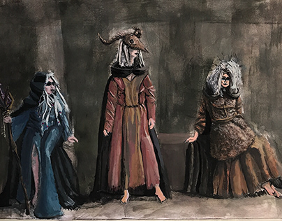 The Tragedy of Macbeth (Cinema adaptation design)