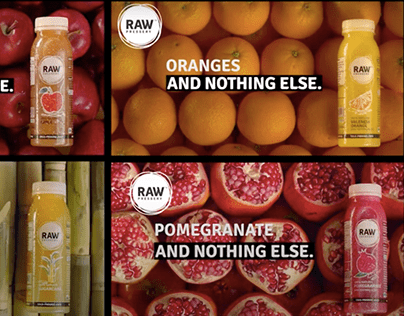 Raw Pressery - And Nothing Else Campaign