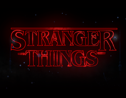 Stranger Things by Alejandro