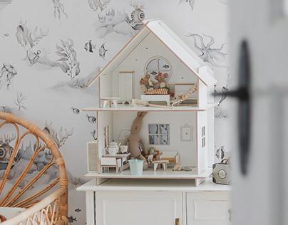 modułowe domki dla lalek/modular dollhouse