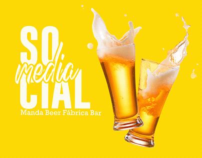 Social Media - Manda Beer Fábrica Bar