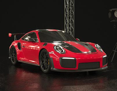 Porsche GT2 RS Studio (FULL CGI)