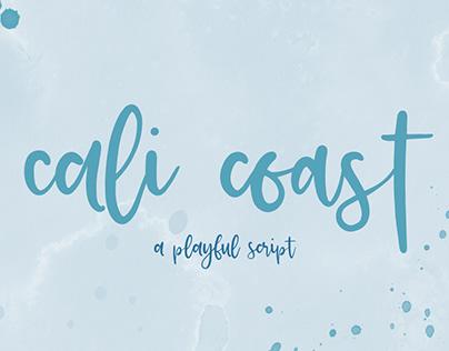 Cali Coast Script Font