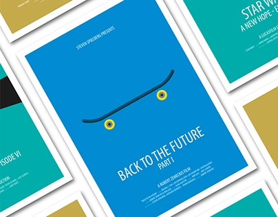 Alternative Movie Posters - Redesign Project
