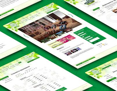 Sar-Gerel. Design, HTML&CSS. 2013