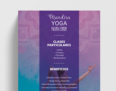 MANDIRA YOGA - Identidad visual