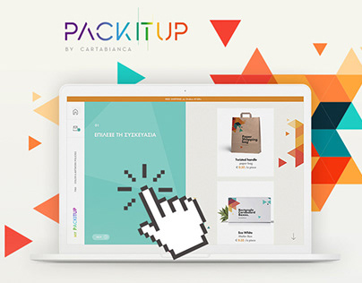 Website for packaging print company