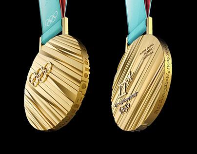 PyeongChang 2018 Winter Olympic Medal