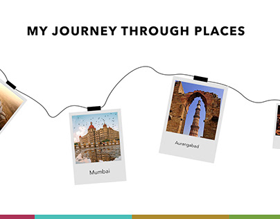 My journey through places