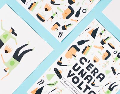 C'ERA UNA VOLTA // Festival branding
