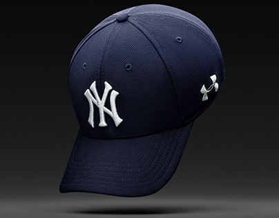 UNDER ARMOUR MLB HAT RETOUCHING