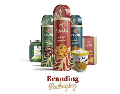 Vezir Makarnaları Branding and Packaging