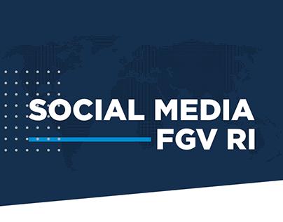 Social Media - FGV RI