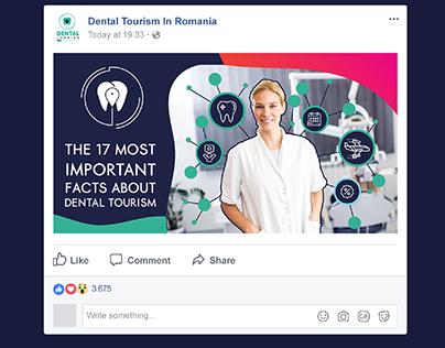 Dental Tourism Platform Facebook Post Design