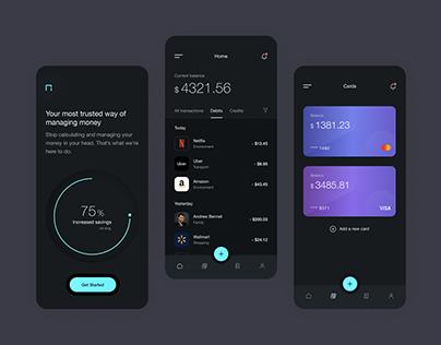 Expense Management Concept app