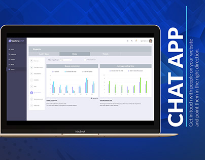 LIVE CHAT - CUSTOMER SUPPORT APPLICATION - UX DESIGN
