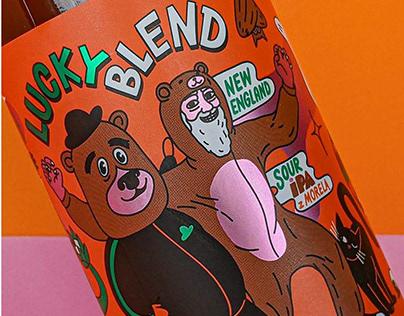 Lucky Blend beer