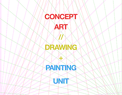 Concept Art / Drawing + Painting Unit