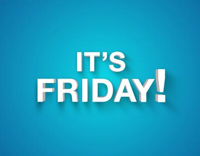 Finally it's Friday! (Gif)