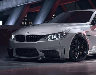 BMW M4 (FULL CGI)