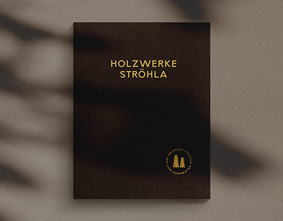 Holzwerke Ströhla   Brochure