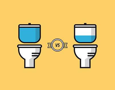 La consommation d'eau d'une personne