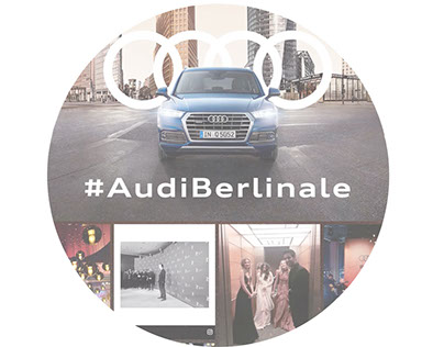 Audi Berlinale Social Wall
