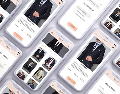 Fashion Infinity UI/UX Design App