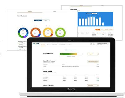 FuelNOW Network Retail - Web UX/UI design