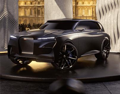 Bugatti suv presentation