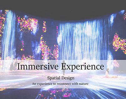 Immersive experience design