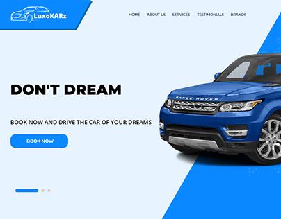 LuxoKARZ - Luxurious Car Renting Application
