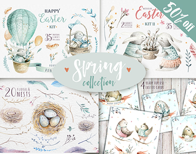 50% Spring &Easter collection