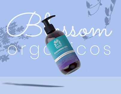 Blossom organicos product design & branding