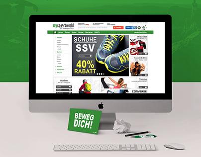Online Shop mysportworld