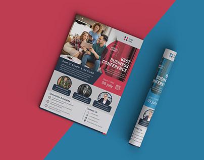Conference Business Flyer Design