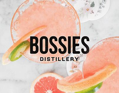 Bossies Gin | Packaging design