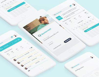 UX /UI design for online platform