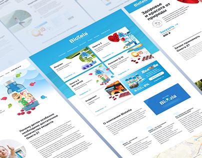 Дизайн сайта BioTela