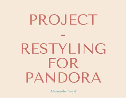 Pandora Italia Website Redesign