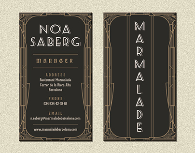 Branding proposal for Marmalade
