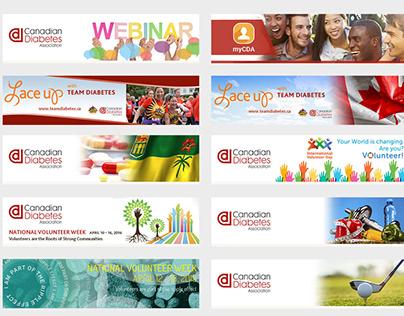 CDA E-Newsletter banners design