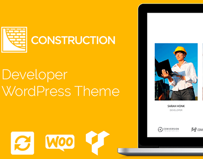 Construction WordPress Theme - Developer Company