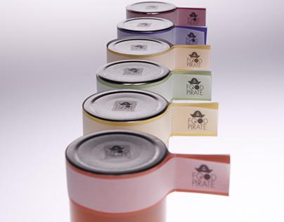 Food Pirate – Packaging & Corporate Design