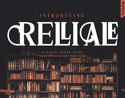 RELLIALE - Classic Serif Font