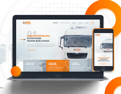 Etis Logistic Website